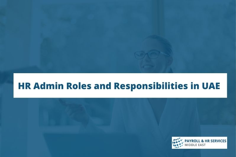 HR responsibilities and roles