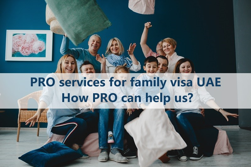 pro services for family visa dubai How pro can help us